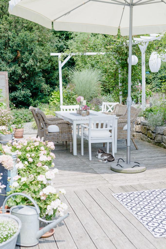 Outdoorliving auf der Terrasse, Pomponetti