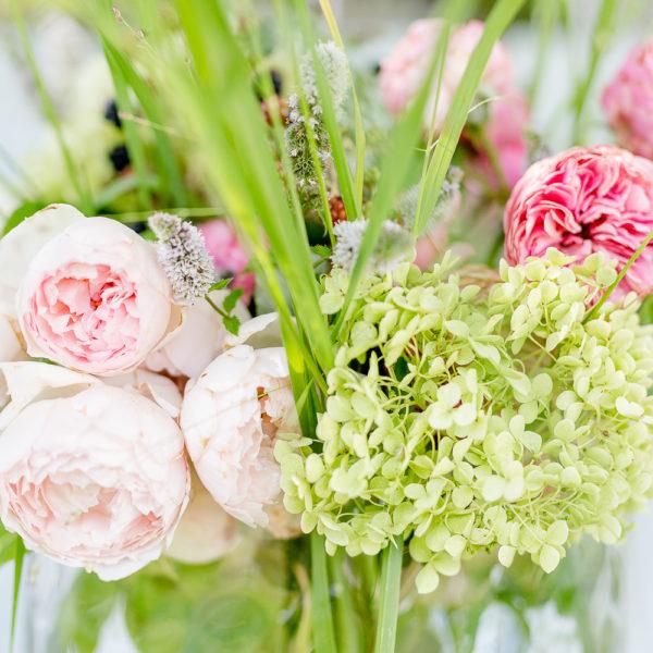 Ideen für Blumendeko oder Blumen arrangieren auf die lässige Art, Pomponetti