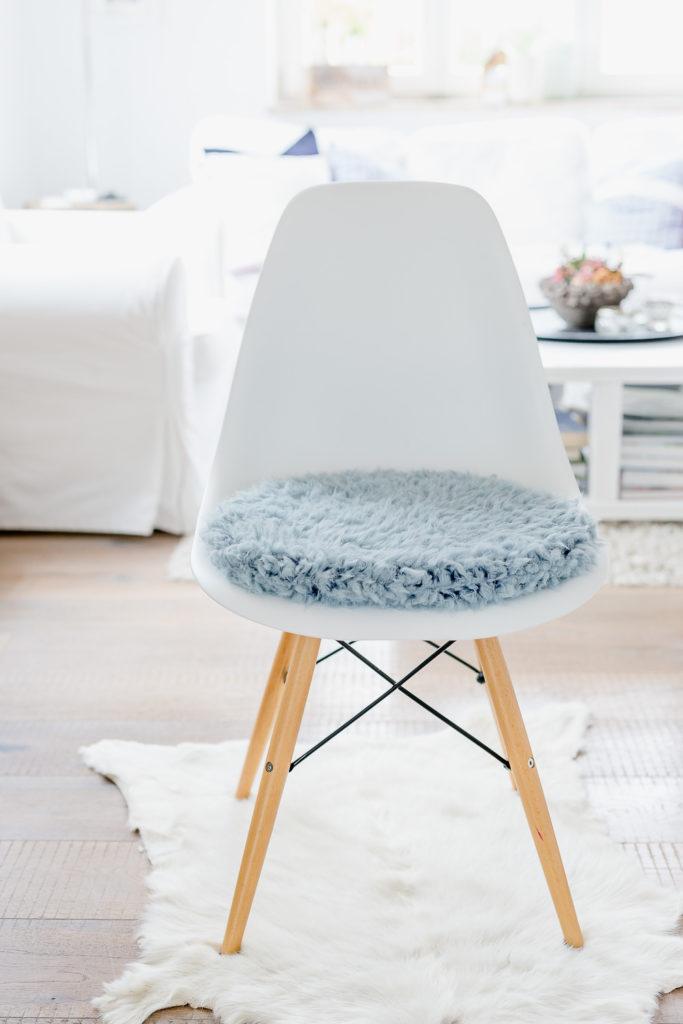 Neue Sitzkissen für Eameschair, Pomponetti