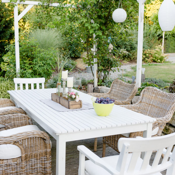 Gartenspaziergang bei Pomponetti Mitte August