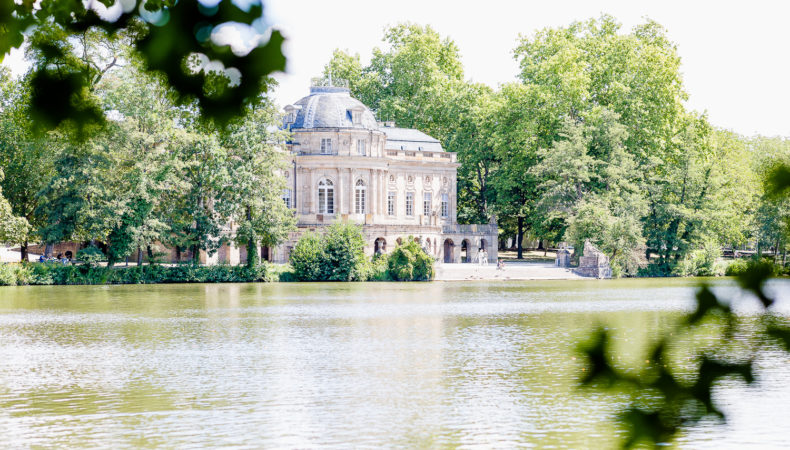 Schloss Monrepos in Ludwigsburg oder Robins Geburtstag