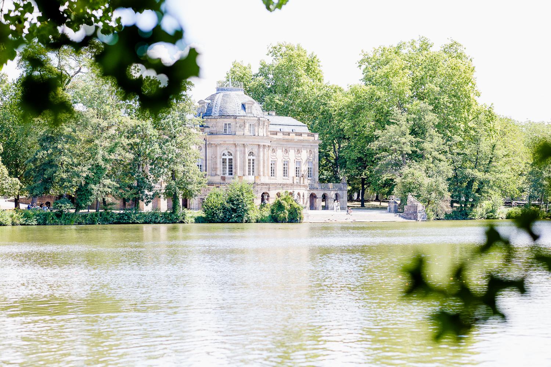 Schloss Monrepos in Ludwigsburg oder Robins Geburtstag, Pomponetti
