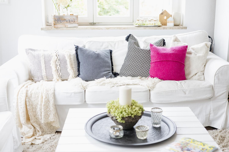 Bohostyle oder neue Kissen fürs Wohnzimmer, Pomponetti
