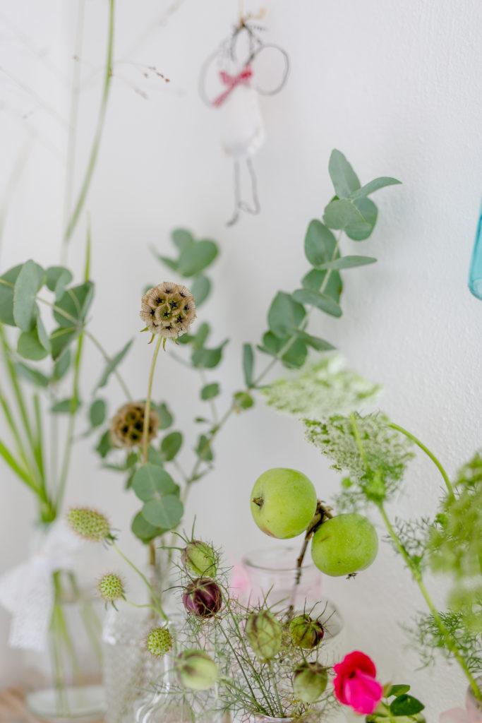 Wohnen im Landhausstil, mit Blumen dekorieren, Pomponetti