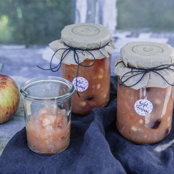 Apfelchutney oder was tun mit dem Apfelsegen, Pomponetti