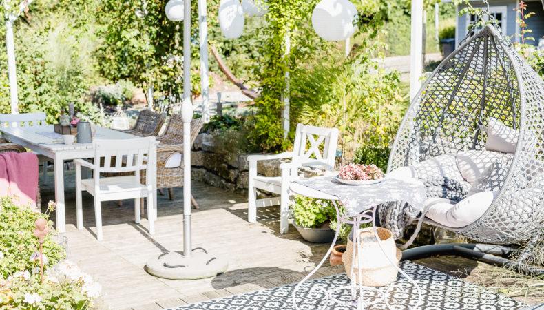 Altweibersommer auf der Terrasse oder September Mood