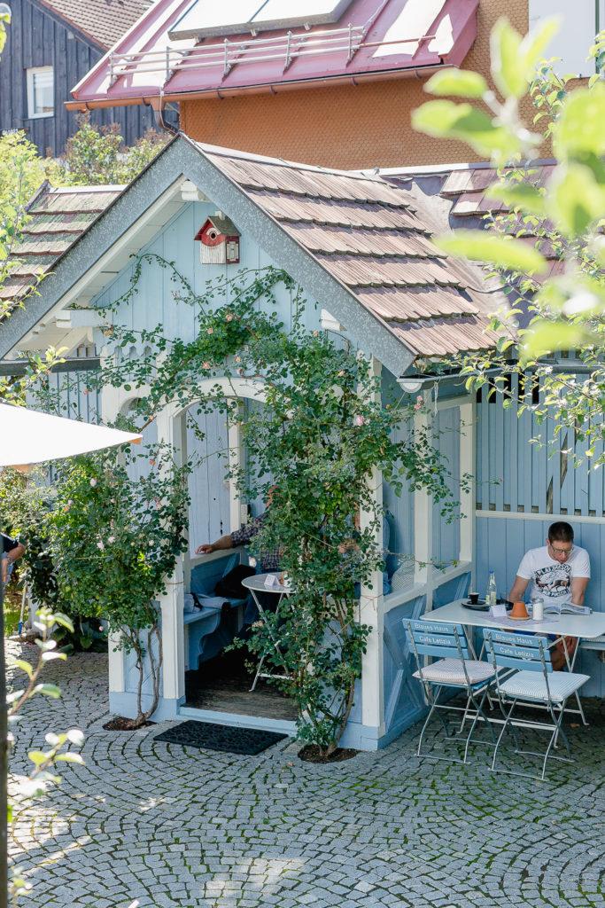 Ausflugsziel Allgäu und das Blaue Haus, Pomponetti