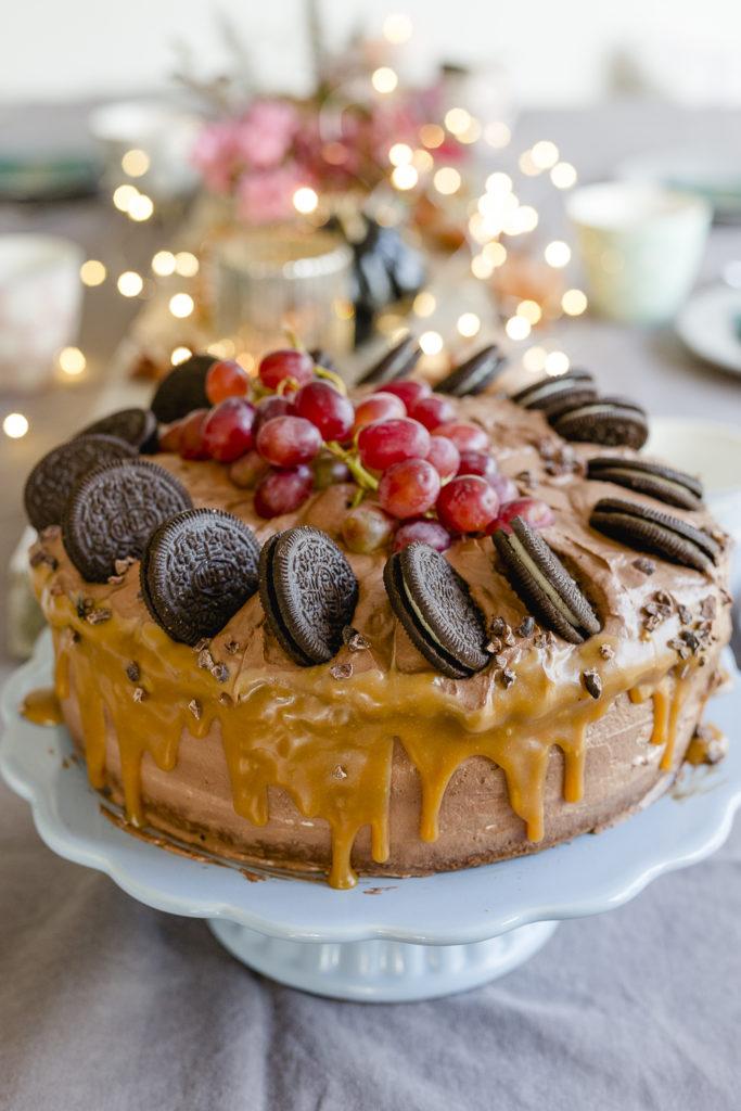 Schokomousse Torte und Geburtstagsimpressionen, Pomponetti