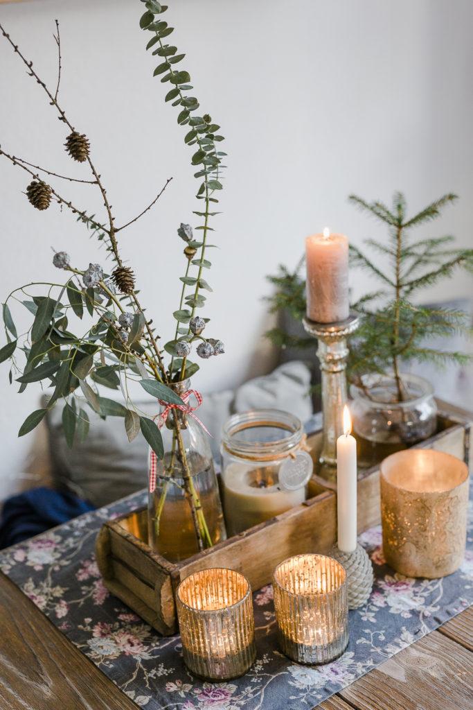 Weihnachtsdekoration und ein schnelles DIY, Pomponetti