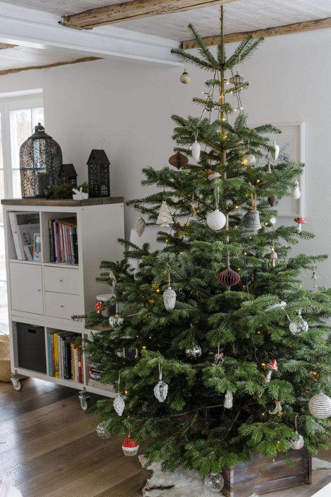 Weihnachtsbaum und Renovierugsarbeiten bei Pomponetti