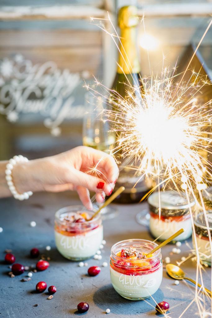 Panna Cotta zu Silvester oder mit Glück ins neue Jahr, Pomponetti