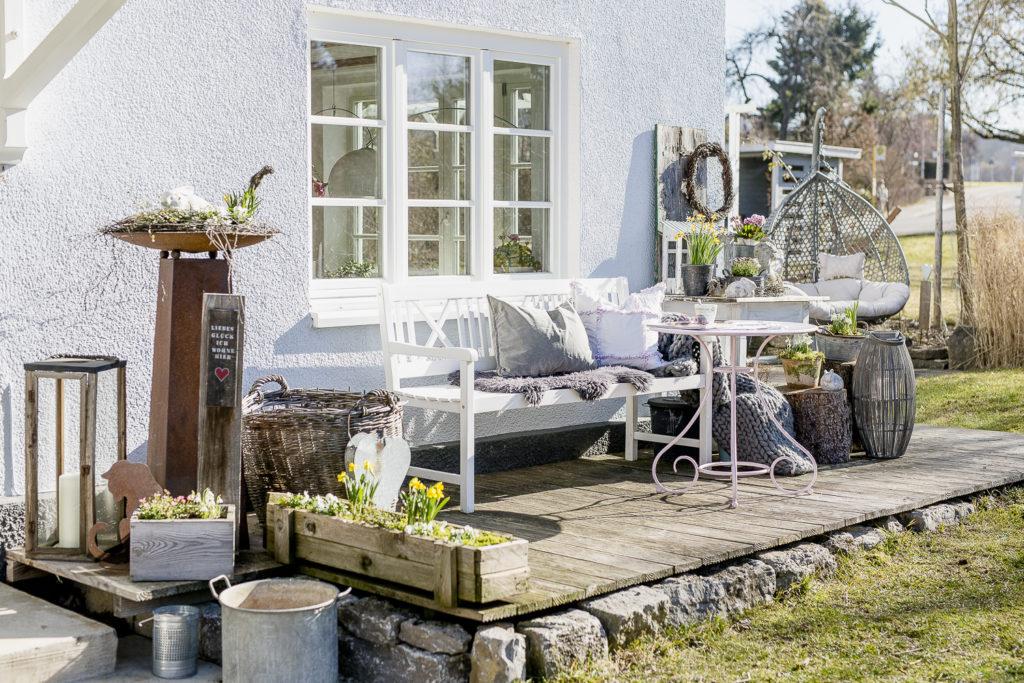 Gartensaison ist eröffnet oder mein Garten im Februar, Pomponetti