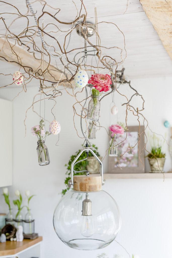 Hängevasen DIY und Magnolienliebe