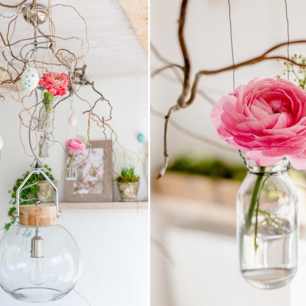 Hängevasen DIY und Magnolienliebe, Pomponetti
