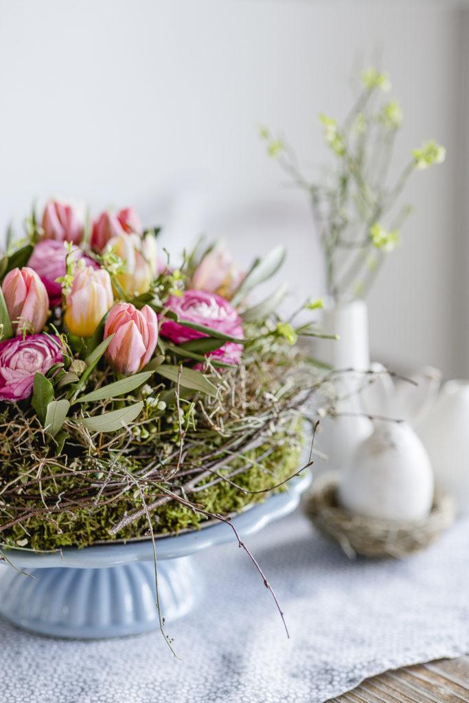 Natürliche Dekoideen zu Frühling und Ostern, Pomponetti