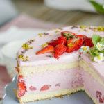 Wochenendblümchen und noch ein Erdbeerrezept, Pomponetti