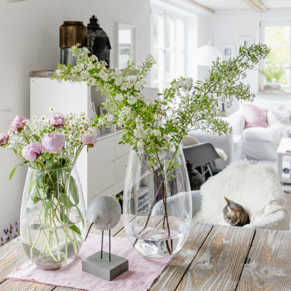 Blumen arrangieren im Landhausstil, Pomponetti