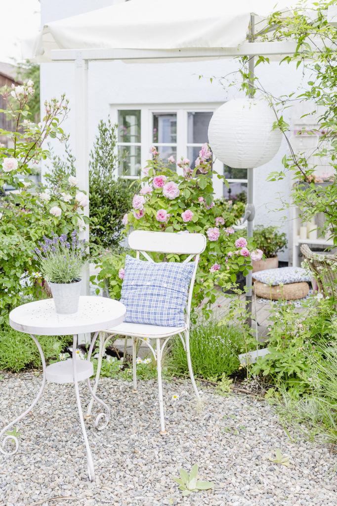 Gartenimpressionen und Rosengarten, Pomponetti