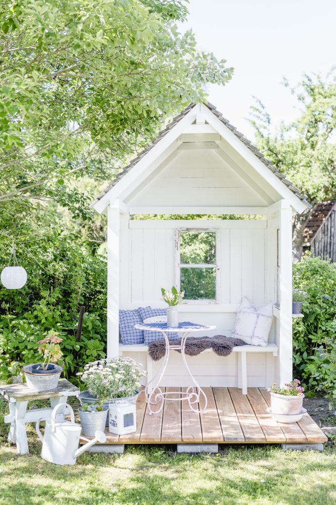 Gartenlaube DIY, Pomponetti