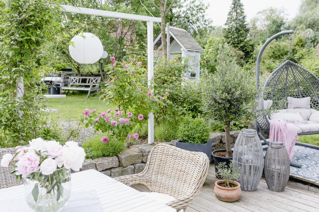 Gartenprojekt.... die Erweiterung der Pergola