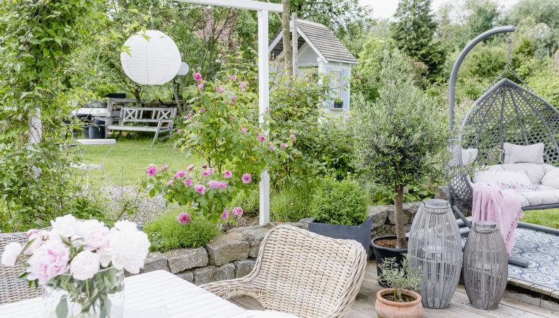 Gartenprojekt…. die Erweiterung der Pergola