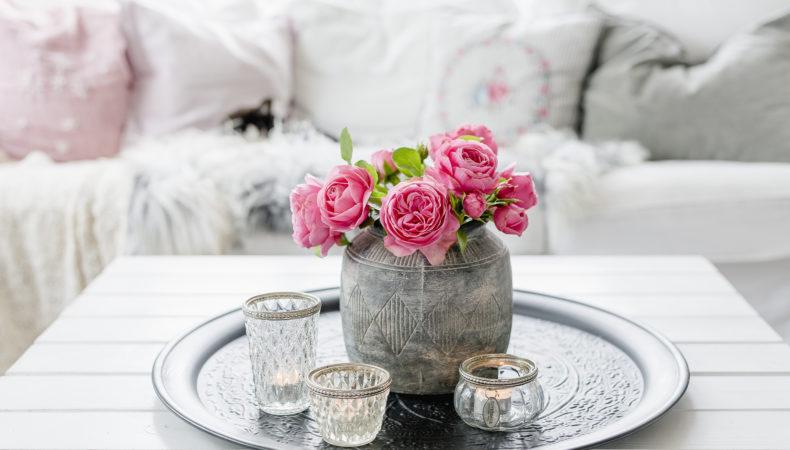 Rosen aus dem Garten zum langen Wochenende
