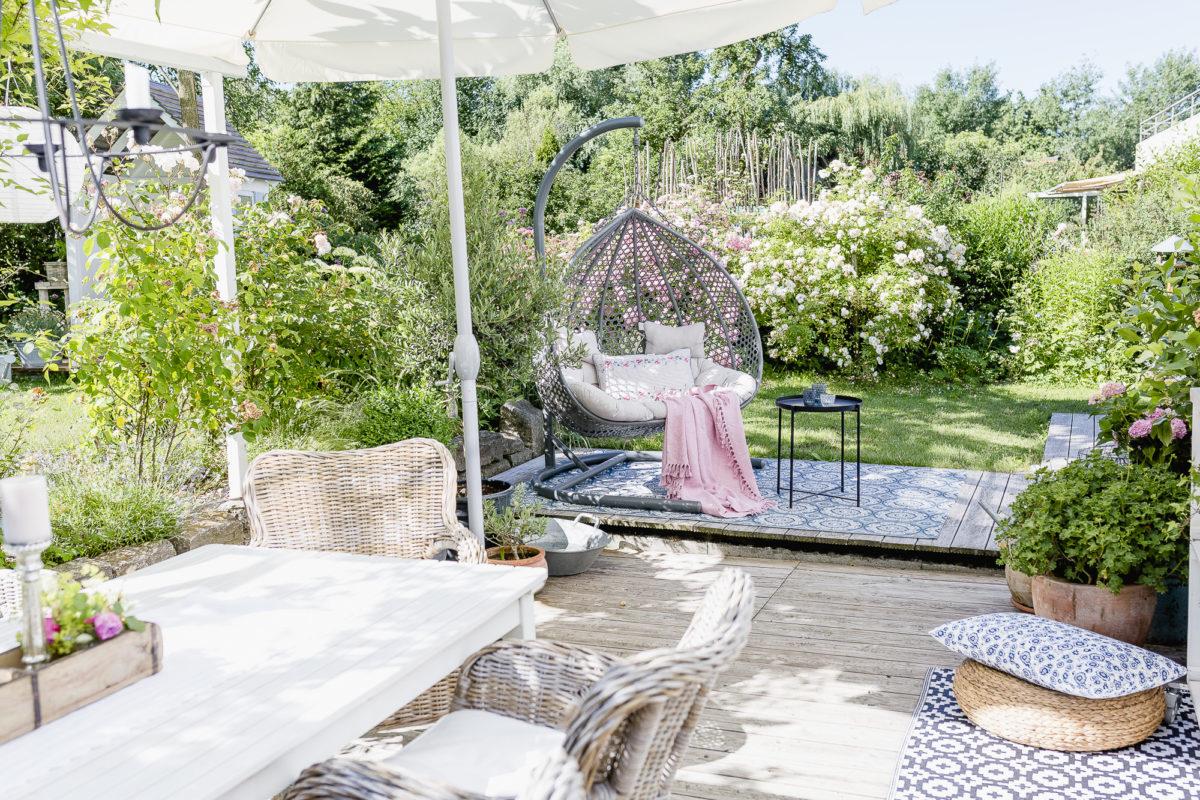 Mediterraner Flair und Sommer auf der Terrasse, Pomponetti