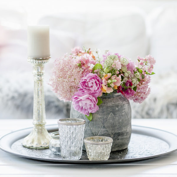 rosa Gartenstrauß, Pomponetti