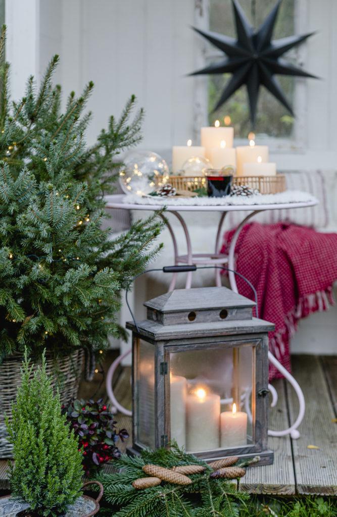 Weihnachtsstimmung in der Gartenlaube, Pomponetti