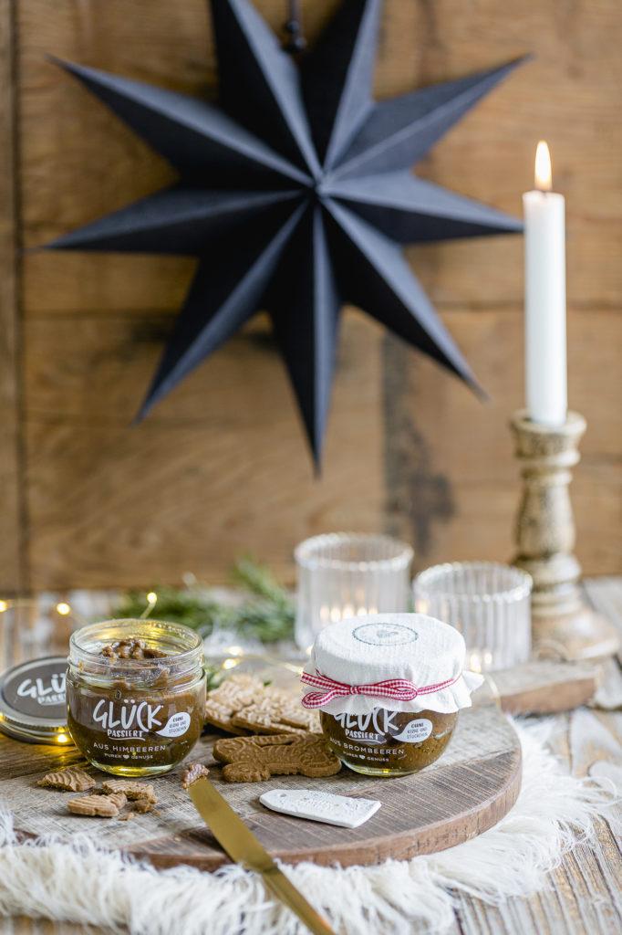 Geschenke aus der Küche, Spekulatiuscreme, Pomponetti