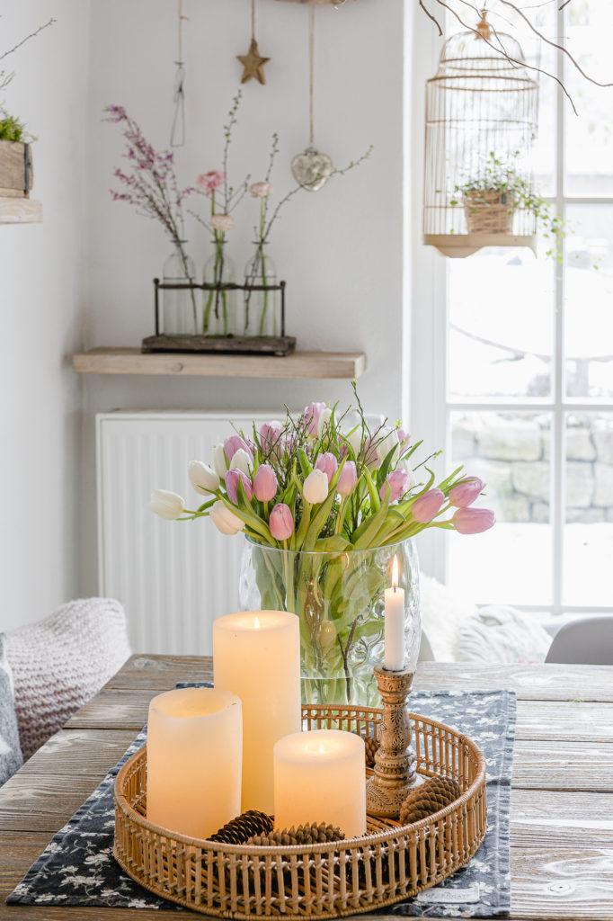 Mit Tulpen und ein bisschen Frühlingsdeko ins Weekend, Pomponetti