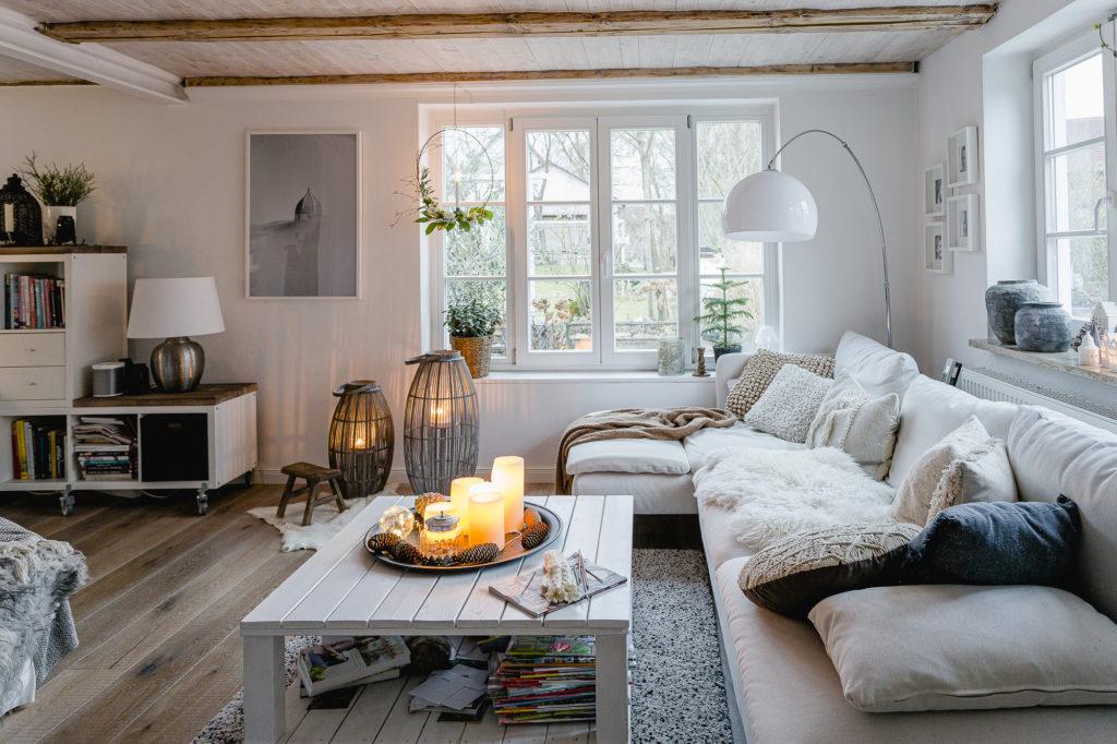 Wohnzimmer im Winter, Pomponetti