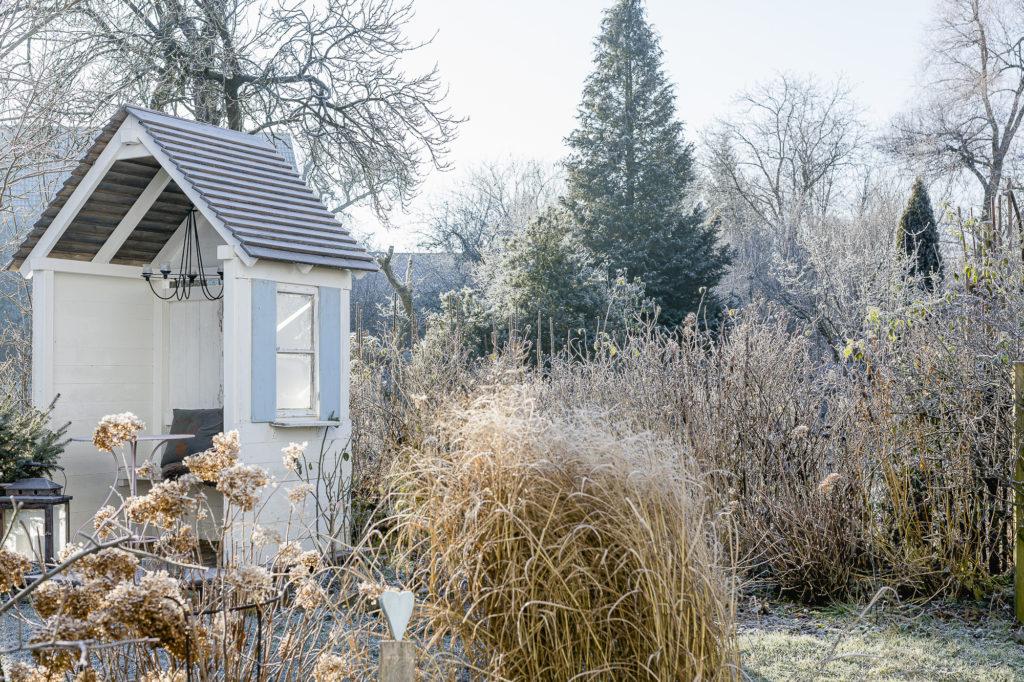 Garten im Winter, Pomponetti