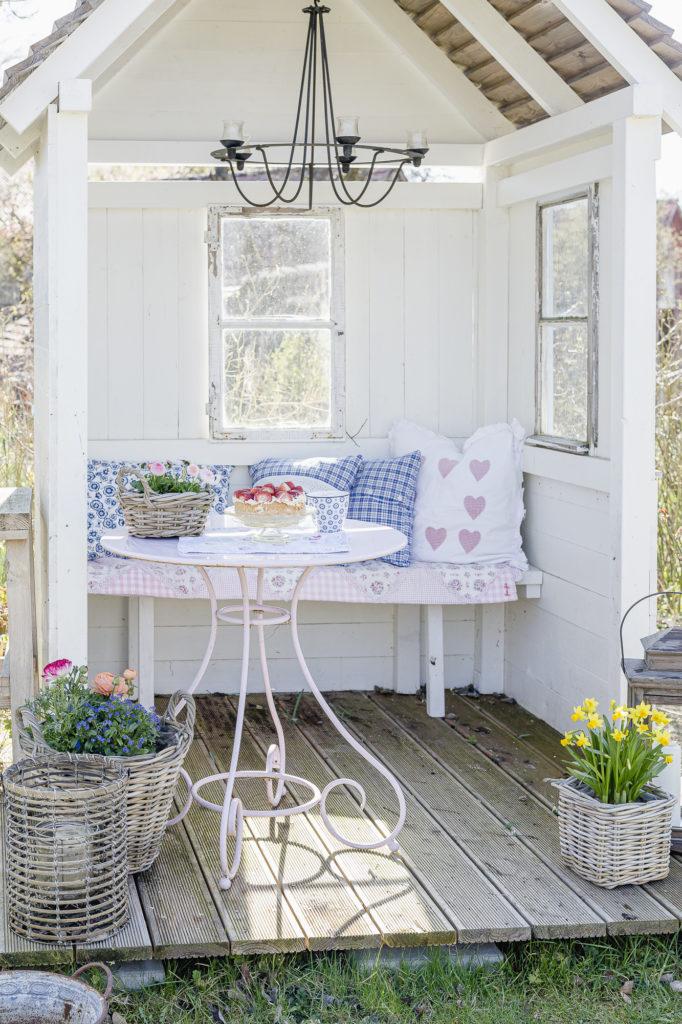 Frühling in der Gartenlaube, Pomponetti