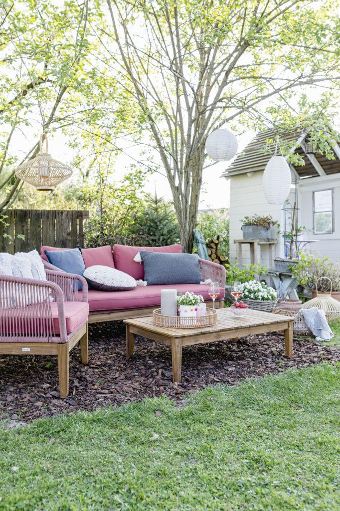 Urlaub im Garten, Lounge, Pomponetti