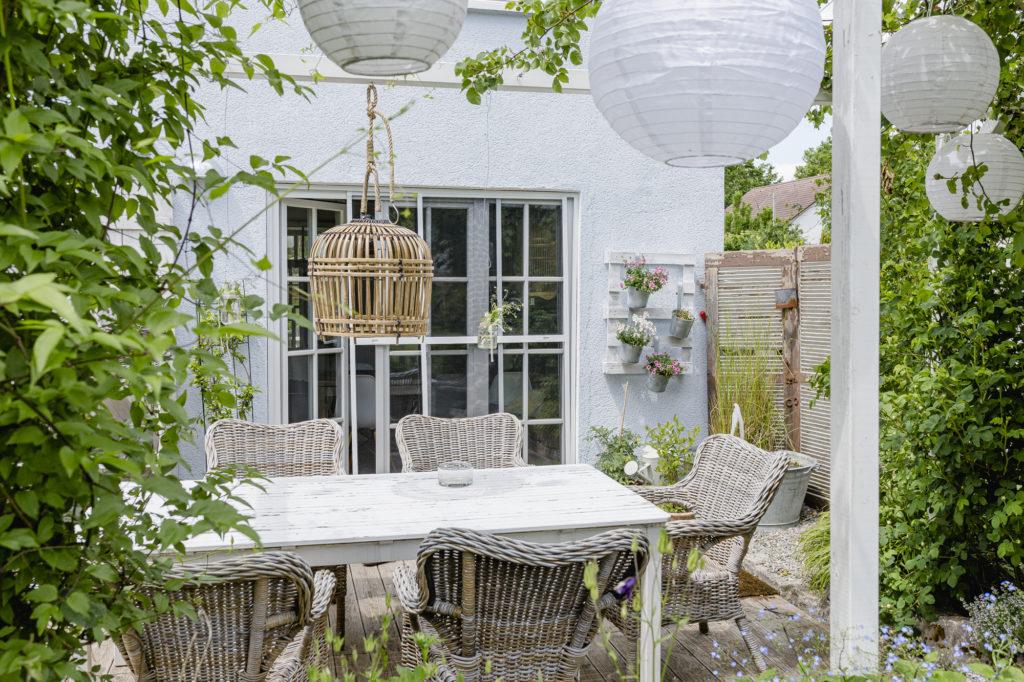 Hängegarten selbstgebaut aus Paletten, Pomponetti
