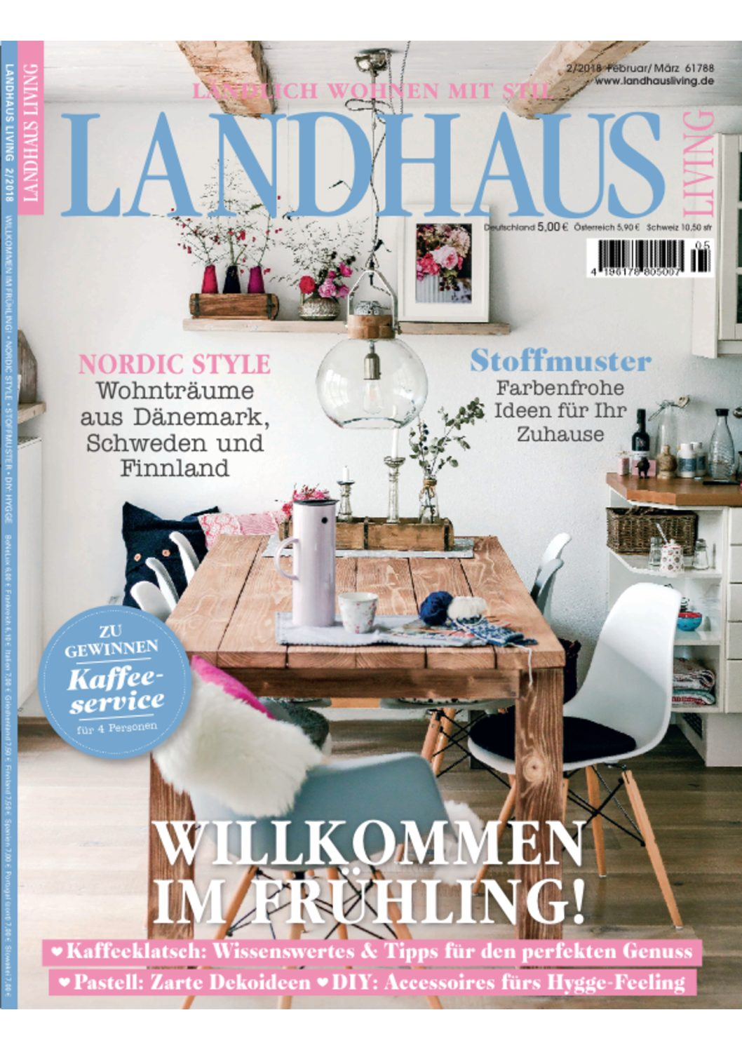 Landhaus Living Titelbild Pomponetti