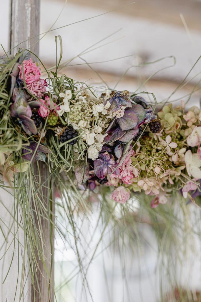 Hortensiengirlande, Pomponetti