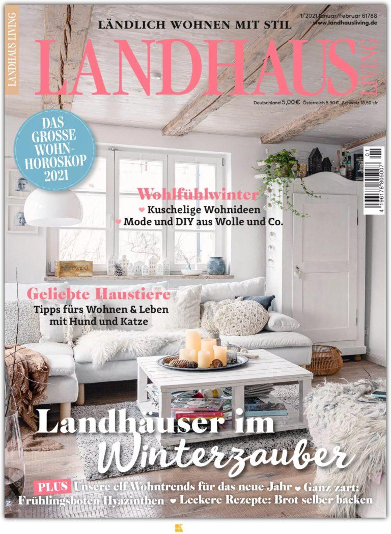 Cover Landhaus Living Pomponetti