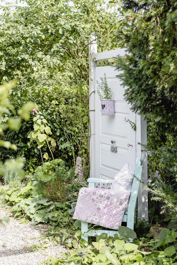 Gartenaccessoires in Eiscremefarben, Pomponetti
