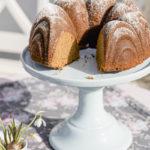Eierlikörkuchen ohne weißen Zucker, Pomponetti