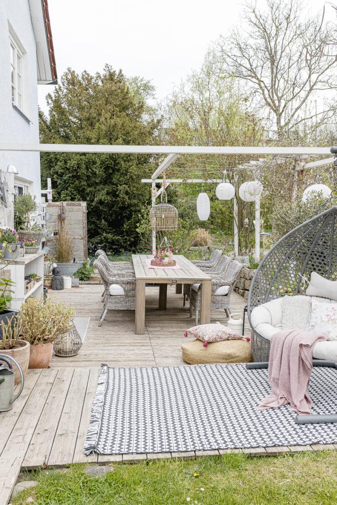 Frühlingsdeko oder der Mai im Pomponetti-Haus und Garten, Pomponetti