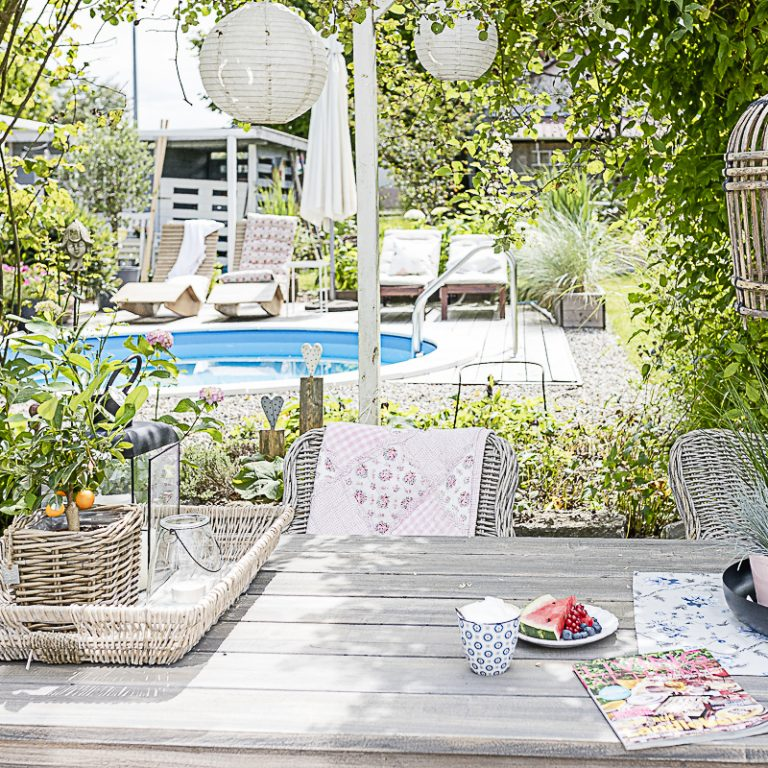 Spätsommer- Gartenimpressionen oder wo bleibt der Sommer, Pomponetti