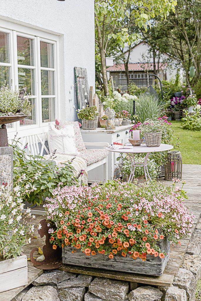 Spätsommer-Gartenimpressionen oder wo bleibt der Sommer, Pomponetti