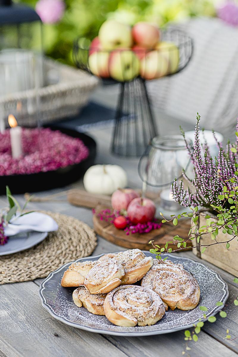 Norwegische Zimtschnecken mit Streuseln, Pomponetti